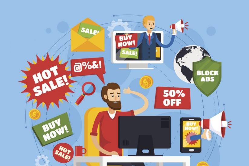 افراط در تبلیغات اینترنتی