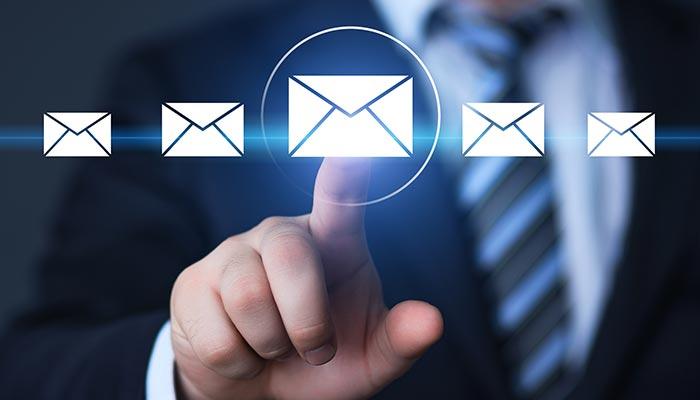 نوشتن متن ایمیل
