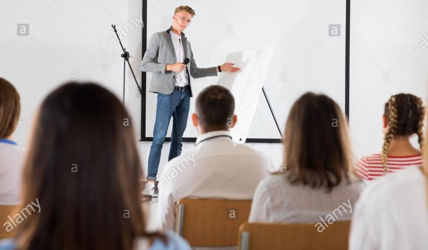 مربی سخنرانی