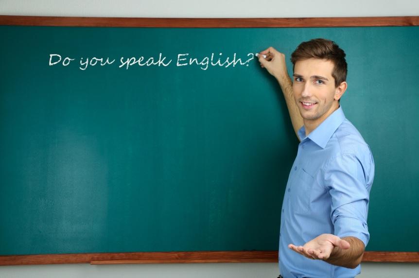 معلم زبان انگلیسی