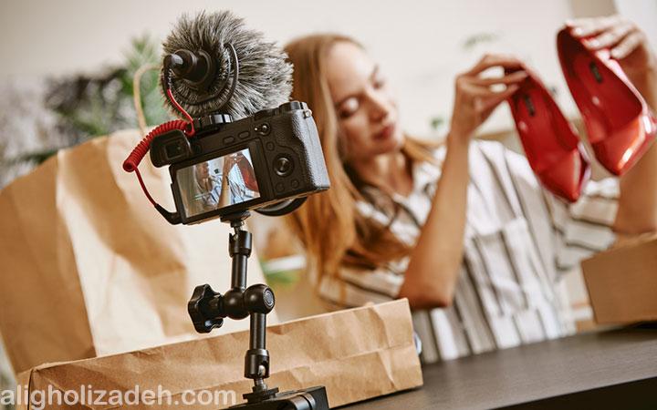 معرفی تجهیزات ساخت محتوای ویدئویی