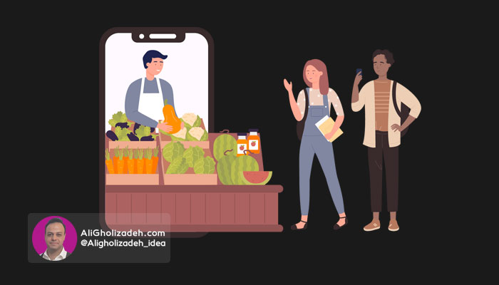 روش دوم: فروش مستقیم کالا یا خدمات